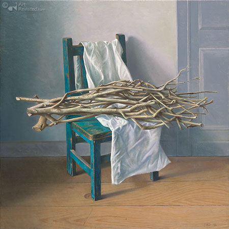 La petite chaise bleu
