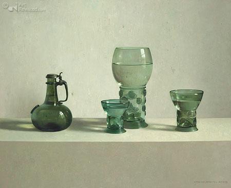 Glas uit de collectie Vecht