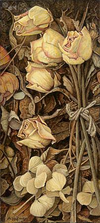 Gedroogde roosjes