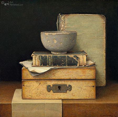 Stilleven met boekjes