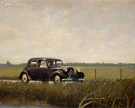 Citroën Traction Avant, 1953