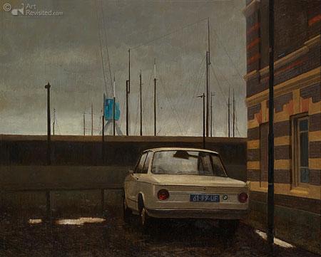 Dokstraat Harns, BMW 2002