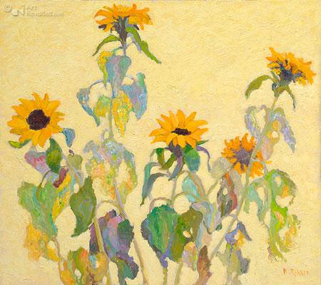 Zonnebloemen geel II
