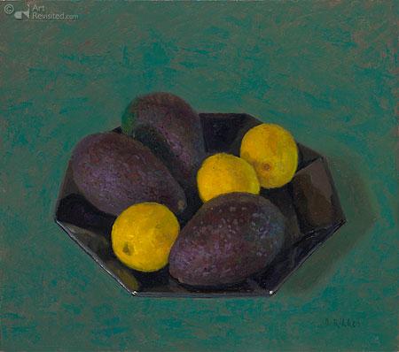 Citroen en avocado