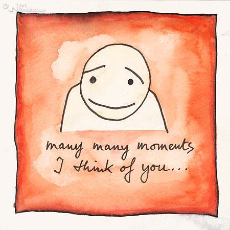 Many many moments i think of you... (2)