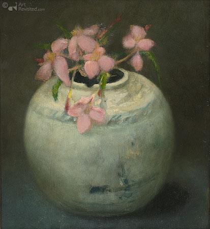 Gemberpot met oleander