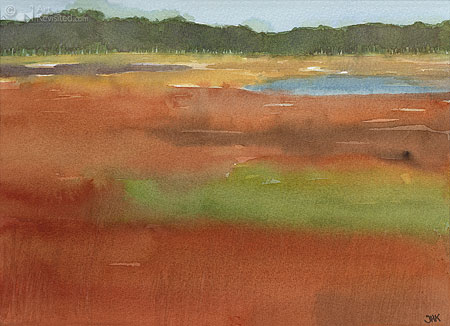 Bloeiend gras III