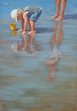 Emmertje water en zand