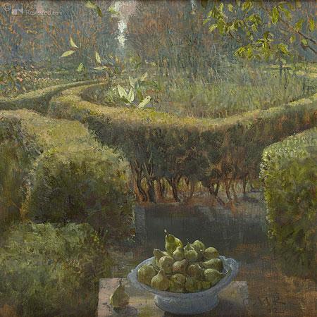 Tuin in Ezinge oktober