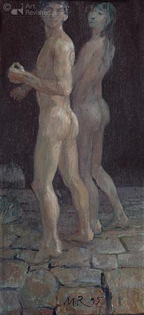 Adam en Eva 'De verdrijving uit het paradijs'