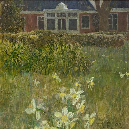 Tuin Ezinge voorjaar