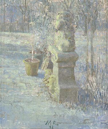 Tuin Ezinge winter