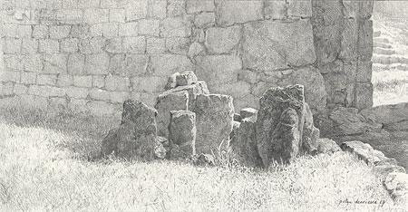 Stenen op le Coulet