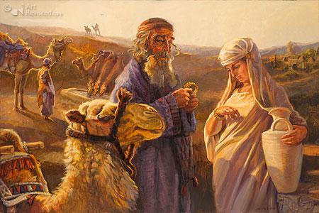 Eliëzer en Rebekka (Gen.23)