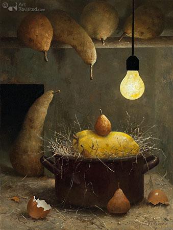 Broody pear