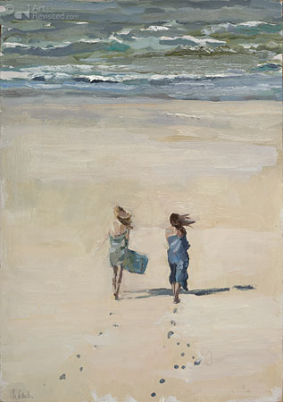 Samen naar zee