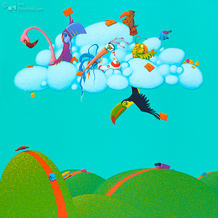 Cloud birds