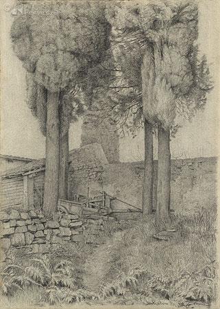 Cipressen bij Valiano