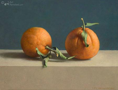 Twee sinaasappels