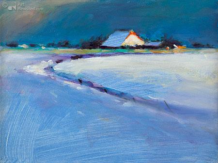 Winter in Friesland