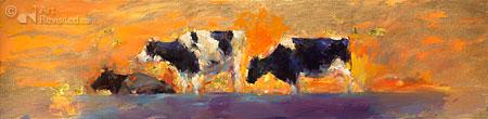 Koeien in goud