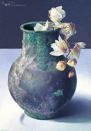 Orchidee in Romeins vaasje
