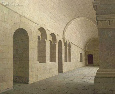 De kloostergang van Sénanque