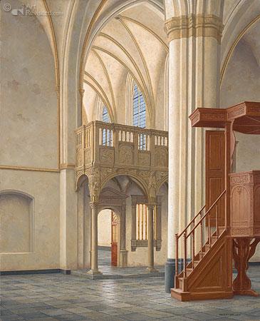 Interieur Cunerakerk Rhenen