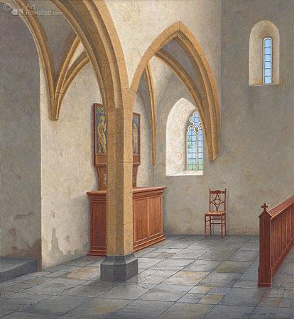 Hoekje in de kerk van Detwang (D)