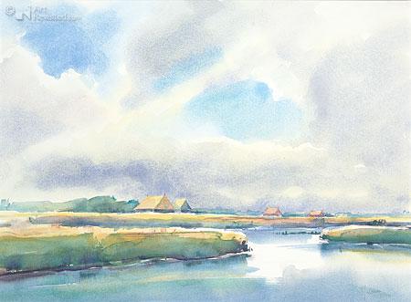 Achter de Waddendijk