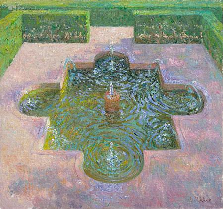Fontein in het Alahambra
