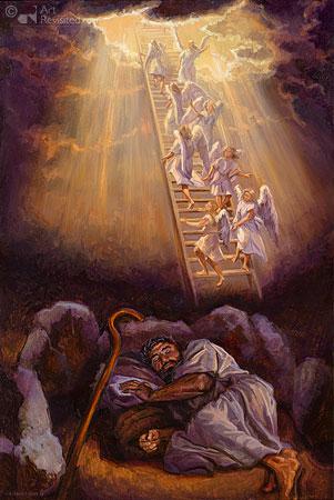 Jakobs droom te Bethel
