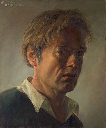 Zelfportret op latere leeftijd