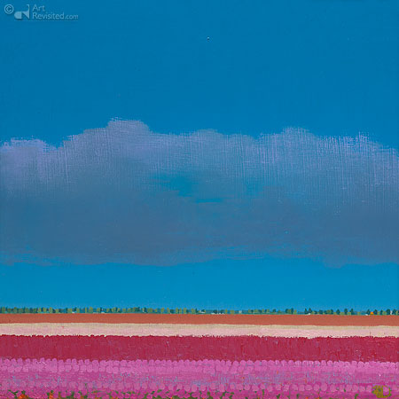 Roze tulpenvelden I