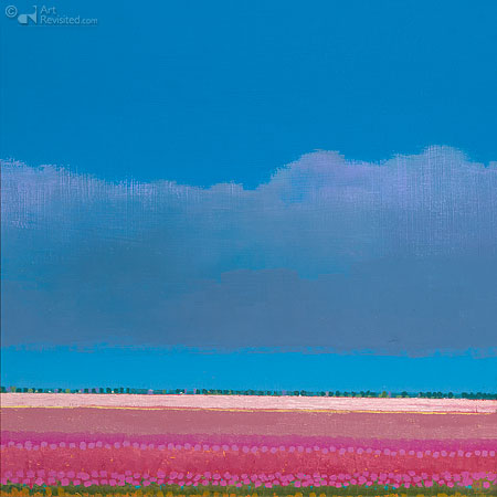 Roze tulpenvelden II