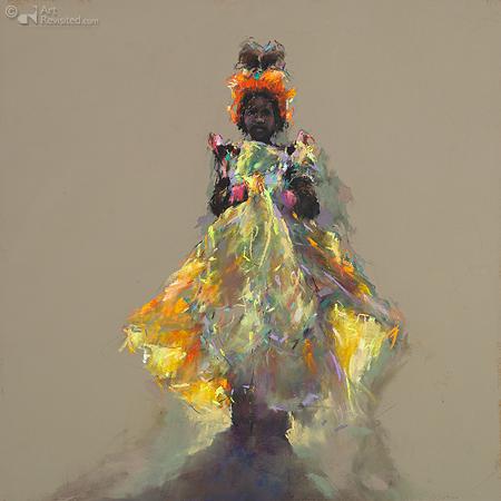 """Carnavalmeisje"" Cabo Verde"