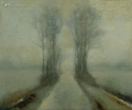 De Bombay in mist