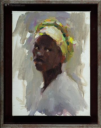 Portret visvrouw