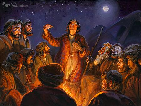Jozef vertelt zijn tweede droom'