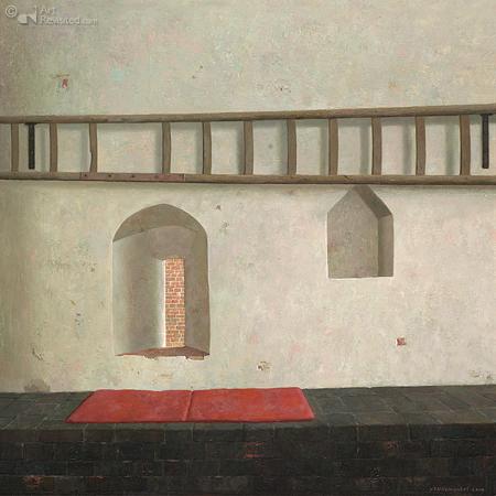 De oostkant van het poortgebouw van kasteel Ammersoyen