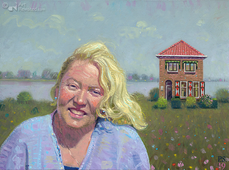 Jannie in Nieuwpoort