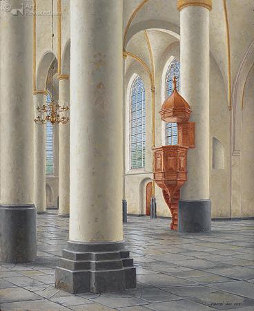 Preekstoel Bergkerk Deventer