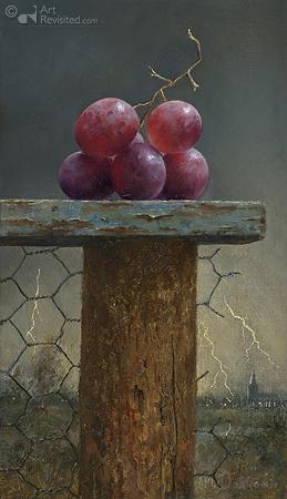 Druiven en onweer