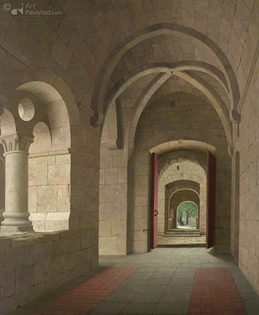 De kloostergang van Le Thoronet