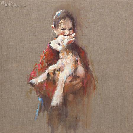 Meisje met lam