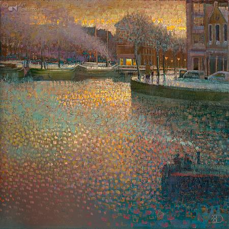 Winternamiddag in Groningen