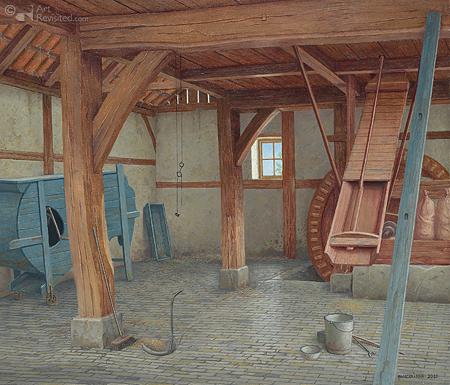 Watermolen De Mast bij Ootmarsum