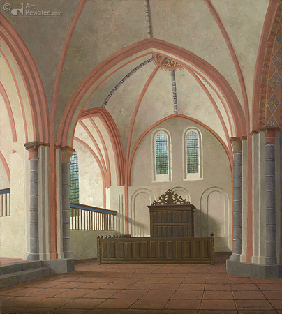 De Nicolaikerk in Appingedam naar het zuidoosten