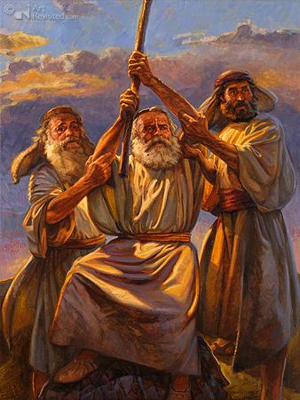 De strijd tegen de Amalekieten