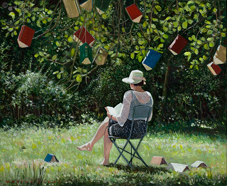 Onder de boekenboom